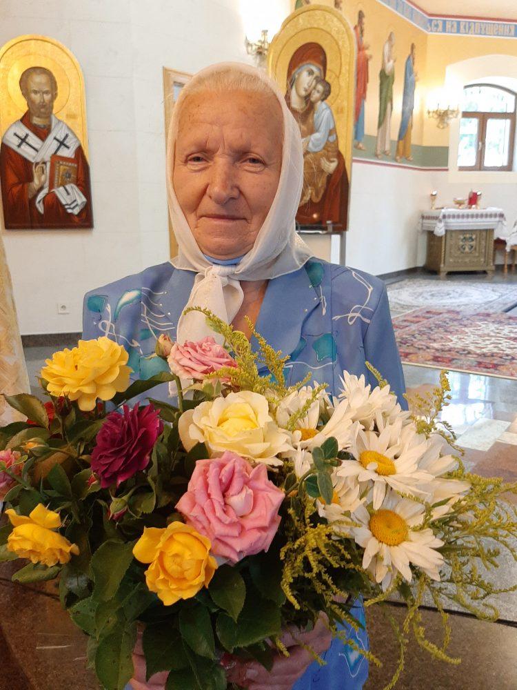 27 липня свій 80-річний ювілей святкує наша активна парафіянка п.Надія Паславська