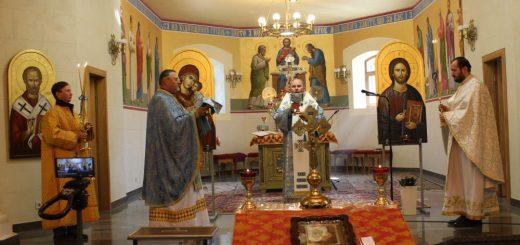 Благовіщення в катедральному соборі — 2020