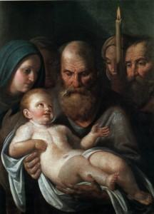 Симеон тримає Ісуса