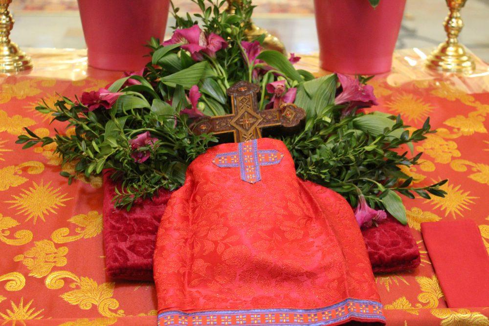 Хрестопоклінна неділя. Фоторепортаж з катерального храму, 22-03-2020