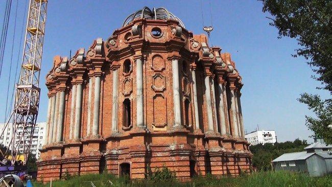 Будівництво катедрального собору УГКЦ в Харкові