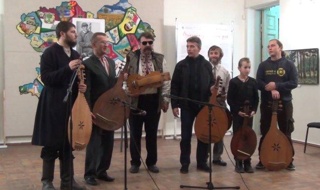 Давні та сучасні твори українських мандрівних співців-музикантів на кобзі, бандурі, торбані, лірі