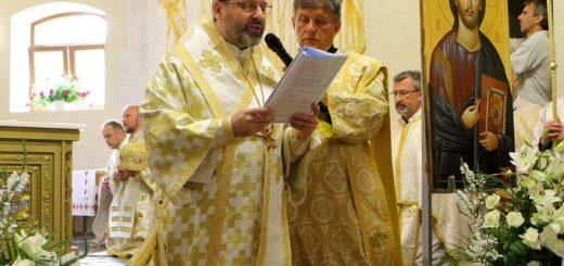 Глава УГКЦ освятив нижній храм собору УГКЦ у Харкові