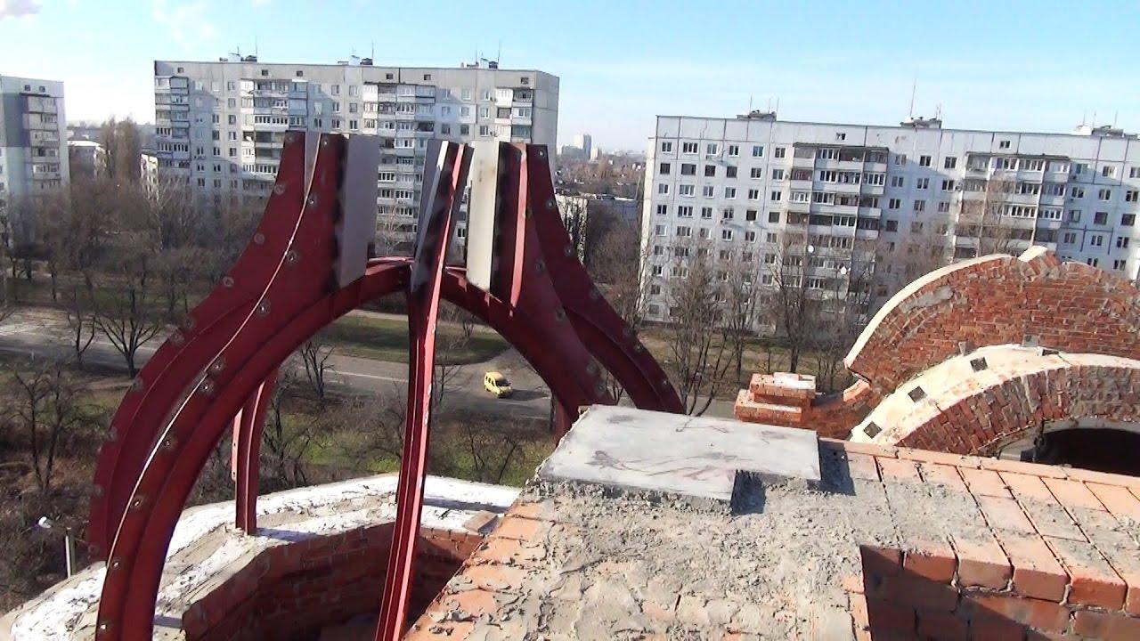 Видираємось на найбільший храм УГКЦ на східній Україні