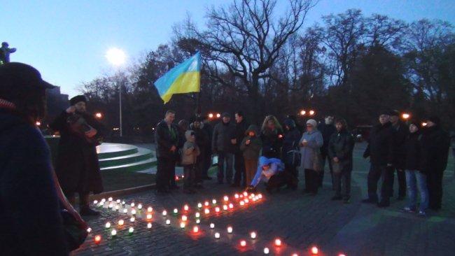 Вшанування жертв голодоморів в Україні. Харків